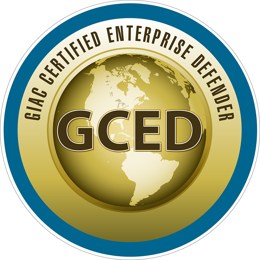 GCED certified